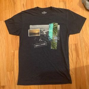 Hollister Graphic Mens T shirt